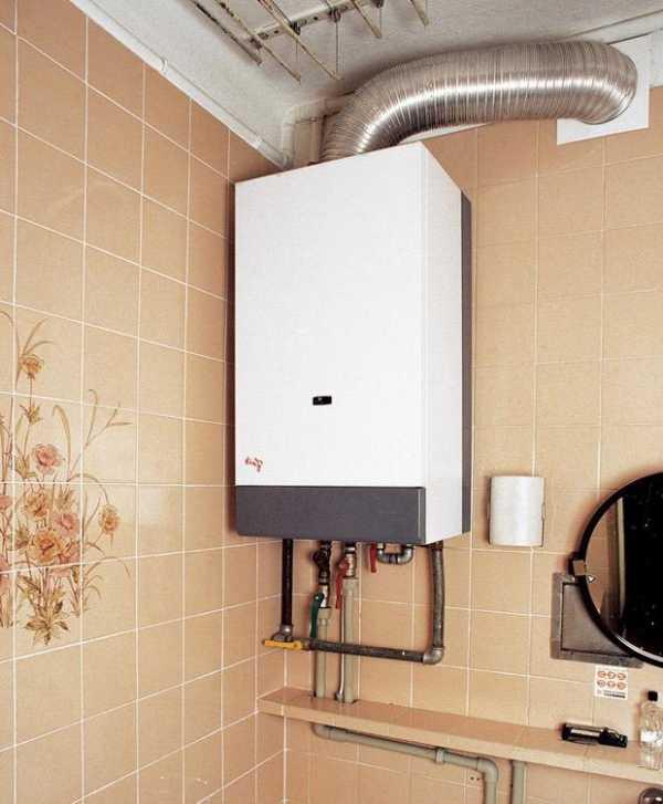 Установка газового водонагревателя своими руками 2