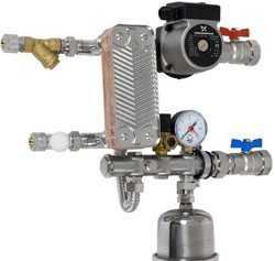 Теплообменник бытовой для горячей воды от отопления купить Кожухотрубный конденсатор ONDA C 56.303.2400 Самара