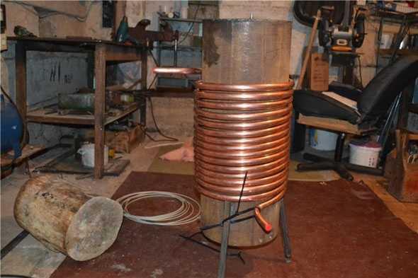 Теплообменник для нагрева воды своими руками