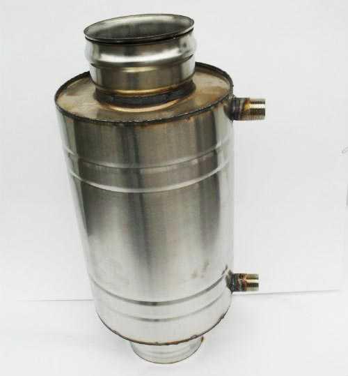 Теплообменники для отопления в дымоходе баня дымоход бак